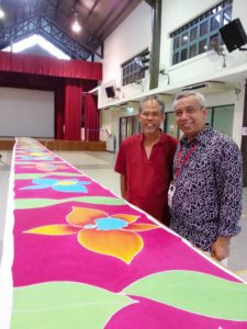 paint with one heart batik