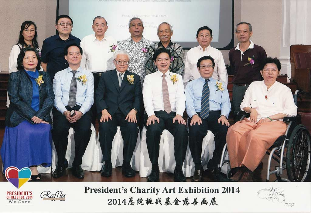 batik events singapore |presidents charity art exhibition 2014